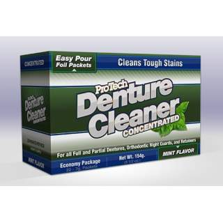 ProTech Denture Cleaner - Economy 22 Packet Box